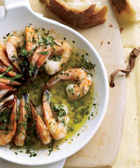 chard-shrimps